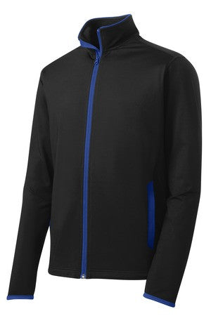 Camp Courageous Sport-Tek Sport-Wick Stretch Contrast Full-Zip Jacket - ST853