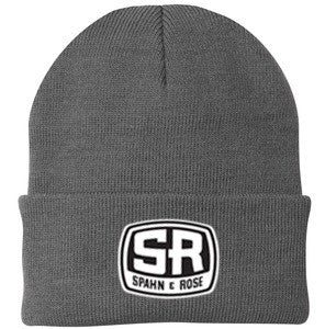 S&R Winter Stocking Cap (Black, Red & Grey)