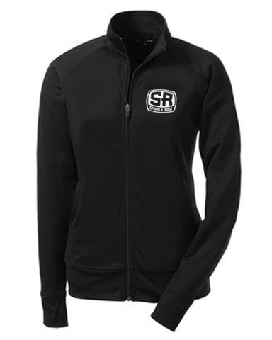 S&R Women's Fitness Full Zip Dri-Fit (Black)