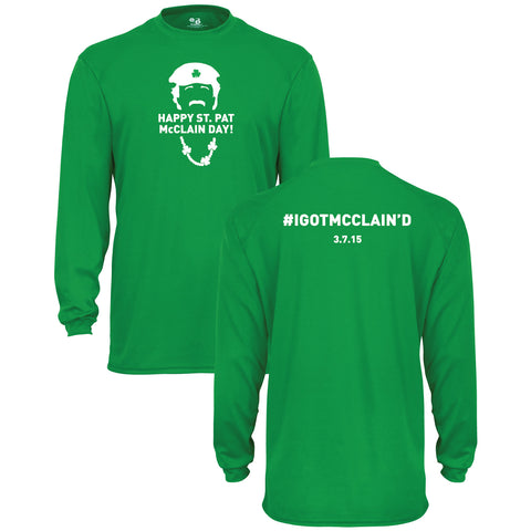 St. Pat McClain Long Sleeve Dri-Fit
