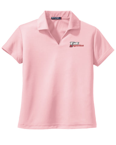 TM Logistics V-Neck Polo (Ladies)