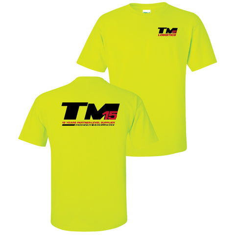 TM Logistics 15 Year Achieving Excellence T-Shirt (Ladies)