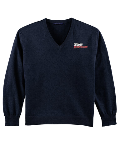 TM Logistics V-Neck Sweater (Mens)