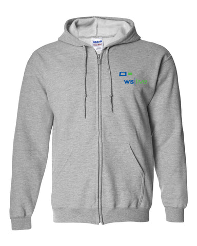 WS Live Full-Zip Hooded Sweatshirt