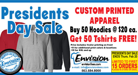 Presidents Day Hoodie Sale