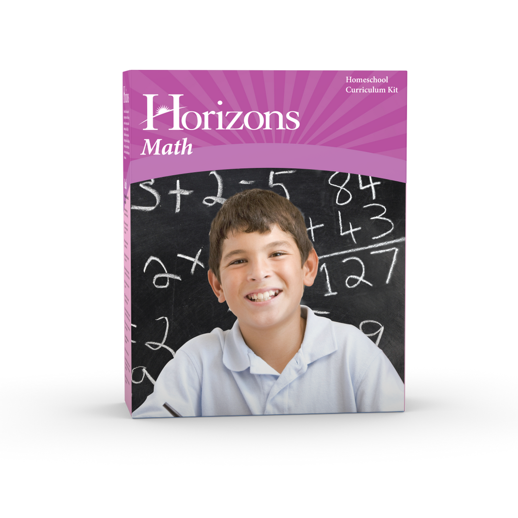 Horizons Math 6th Grade Complete Set