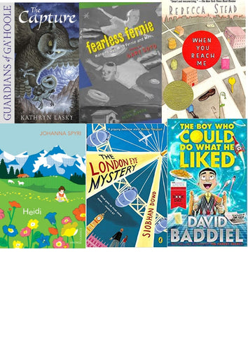 Upper Key Stage 2 Reading Bundle - Fiction