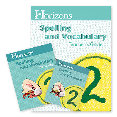 Horizons 1st Grade Spelling & Vocabulary Complete Set