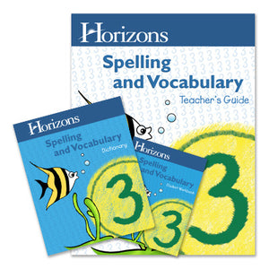 Horizons 2nd Grade Spelling & Vocabulary Complete Set