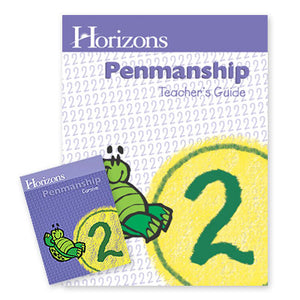 Horizon 2nd Grade Penmanship Complete Set