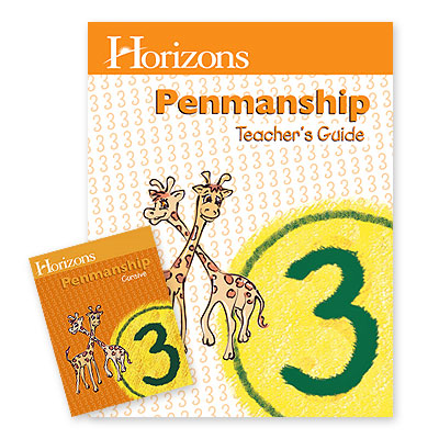 Horizons 3rd Grade Spelling & Vocabulary Complete Set