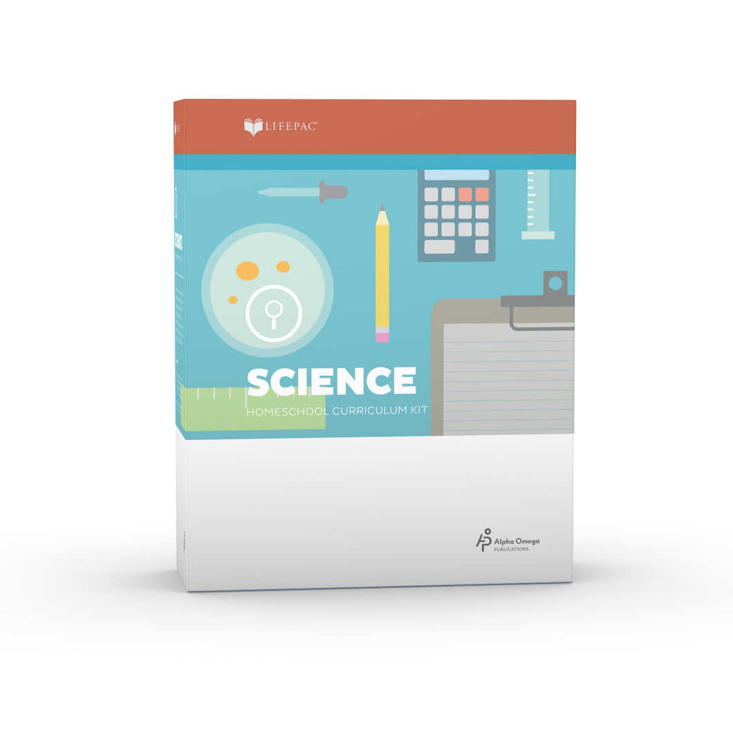Lifepac Science Sixth Grade Complete Set
