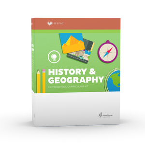Lifepac History & Geography 1st Grade Complete Set