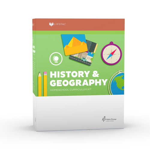 Lifepac History & Geography 8th Grade Complete Set