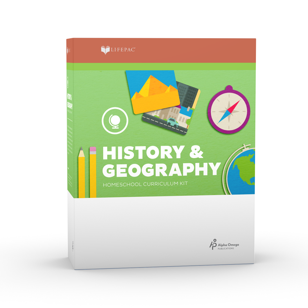Lifepac History & Geography 7th Grade Complete Set