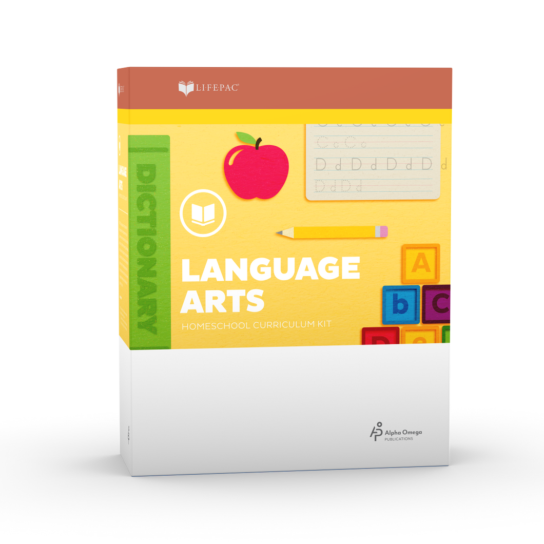 Lifepac Language Arts 4th Grade Complete Set