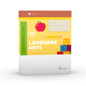 Lifepac Language Arts 3rd Grade Complete Set