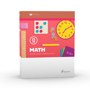 Lifepac Math Fifth Grade Complete Set