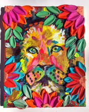 Lion and Florals