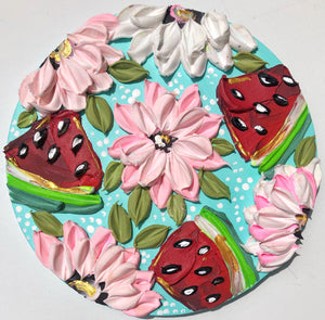 Watermelon and Pink Florals