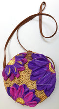 Purple Flowers Purse