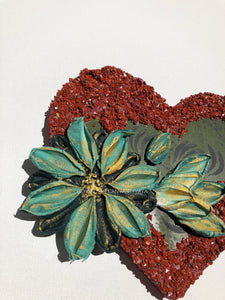 Red Jasper and Floating Flower