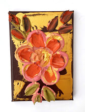 Rich Gold and Brown with Burnt Orange and Pink