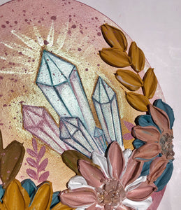 Crystals and Rose Quartz
