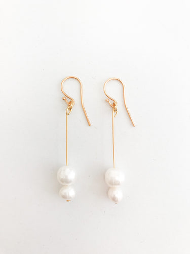 Deya Pearl Earrings