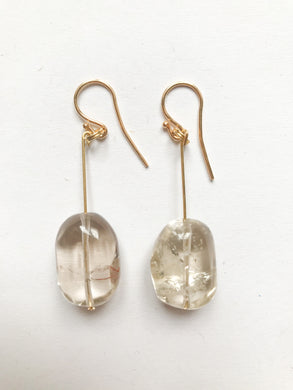 Smoke Quartz Earrings