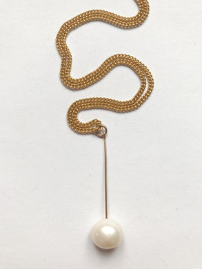 Pearl Stab Necklace