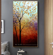 Load image into Gallery viewer, Decorativos picture landscape  tree canvas painting for living room home decor artwork cuadros decoracion salon moderno lienzos - SallyHomey Life's Beautiful