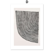 Load image into Gallery viewer, Abstract Girl Vintage Poster Minimalist Wall Art Canvas Painting Nordic Posters And Prints Wall Pictures For Living Room Decor - SallyHomey Life's Beautiful