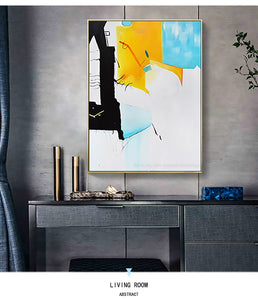 Hand painted canvas oil painting  for living room cuadros decoracion pictures dormitorio lienzos wall art picture modern art - SallyHomey Life's Beautiful