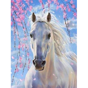 5D Diamond Painting Horse Full drilling Diamond Embroidery Cross Stitch Animal Wall Pictures rhinestones diy Kids Room Decor - SallyHomey Life's Beautiful