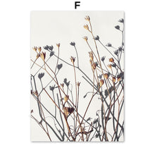 Load image into Gallery viewer, Abstract Reed Grass Leaves House Lamb Nordic Posters And Prints Wall Art Canvas Painting Wall Pictures For Living Room Decor - SallyHomey Life's Beautiful