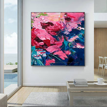 Load image into Gallery viewer, Hand painted cuadros decoracion salon tableau peinture sur toile abstract modern oil paintings for bedroom heavy oil textures - SallyHomey Life's Beautiful