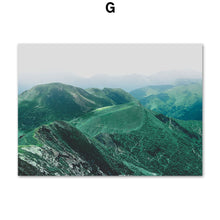 Load image into Gallery viewer, Fresh Cactus Mountain Leaf Terraced Field Wall Art Canvas Painting Nordic Posters And Prints Wall Pictures For Living Room Decor - SallyHomey Life's Beautiful