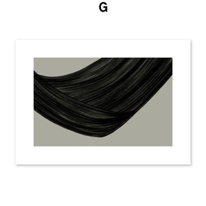 Abstract Girl Vintage Poster Minimalist Wall Art Canvas Painting Nordic Posters And Prints Wall Pictures For Living Room Decor - SallyHomey Life's Beautiful