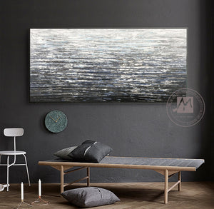 Abstract art acrylic paintings thick oil layers hand painting oil on canvas laminas de cuadros pared decorativas for living room - SallyHomey Life's Beautiful