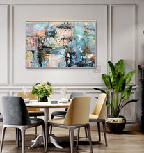 Load image into Gallery viewer, Hand painted oil on canvas painting wall picture decoration living room original wall art  laminas decorativas pared cuadros - SallyHomey Life's Beautiful