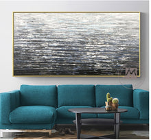 Load image into Gallery viewer, Abstract art acrylic paintings thick oil layers hand painting oil on canvas laminas de cuadros pared decorativas for living room - SallyHomey Life's Beautiful