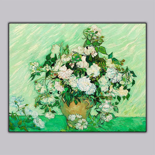 100% Hand Painted Abstract Van gogh Oil Painting On Canvas Wall Art Frameless Picture Decoration For Live Room Home Decor Gift