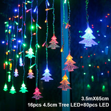 Load image into Gallery viewer, Elk Bell String Light LED Christmas Decor For Home Hanging Garland Christmas Tree Decor Ornament 2019 Navidad Xmas Gift New Year - SallyHomey Life's Beautiful