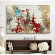 Load image into Gallery viewer, Original oil painting on canvas abstract handmade large paintings for living room wall decor quadros de parede para sala picture - SallyHomey Life's Beautiful