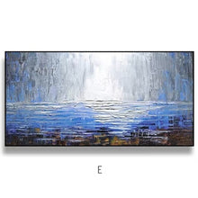 Load image into Gallery viewer, 100% Painting knife painting oil painting, abstract on canvas 100% manual art modern art living room wall decoration - SallyHomey Life's Beautiful