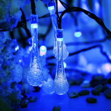 Load image into Gallery viewer, Christmas Decorative String Light Water Drop Fairy Light for Outdoor Indoor Home Patio Lawn Garden Party Wedding - SallyHomey Life's Beautiful