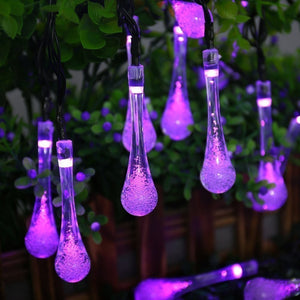 Christmas Decorative String Light Water Drop Fairy Light for Outdoor Indoor Home Patio Lawn Garden Party Wedding - SallyHomey Life's Beautiful