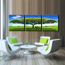 Load image into Gallery viewer, 3Pcs Modern Paintings Prints On Canvas Wall Art Printed Green Tree Landscape Poster for Living Room Wall Home Decor No Frame - SallyHomey Life's Beautiful