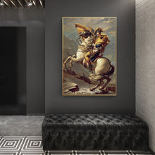 Load image into Gallery viewer, Classic Wall Decoration Posters And Prints Wall Art Canvas Painting France Strategist Napoleon Pictures for Living Room No Frame - SallyHomey Life's Beautiful
